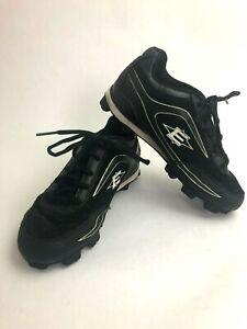 Easton Baseball Cleats Shoes US Youth Size 6 Black