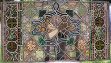 Rare Antique J & R Lamb Studios Stained Glass Window JESUS  c. 1880  Christian