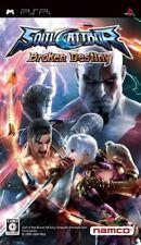 PSP SOUL CALIBUR Broken Destiny Japan PlayStation Portable F/S