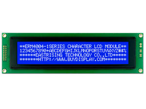 5V 40x4 4004 LCM Monochrome Character LCD Display Module,w/Tutorial,HD44780