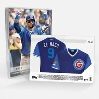 2018 Topps NOW MLB Player's Weekend CHICAGO CUBS 5-Card Team Set SP! #/904