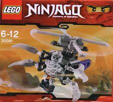 LEGO Ninjago SCHELETRO CHOPPER 30081 POLYBAG NUOVO con confezione
