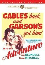 Adventure (1945 Clark Gable Greer Garson) DVD NEW