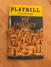 MY FAIR LADY PLAYBILL NYC VIVIAN BEAUMONT THEATER MARCH 2019