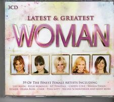 (FD445B) Latest & Greatest Woman, 59 tracks various artists - 3 CDs - 2013