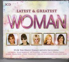 (FD445B) Latest & Greatest Woman, 59 tracks various artists - 3 CDs - 2013