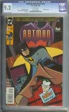 BATMAN ADVENTURES #16 CGC 9.2 WHITE PAGES