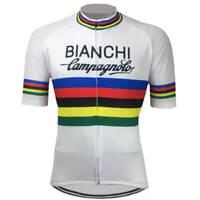 Retro Team Bianchi Campagnolo world Champion Cycling Jersey