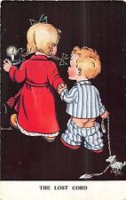 POSTCARD  CHILDREN     The  Lost   Chord                  Tuck