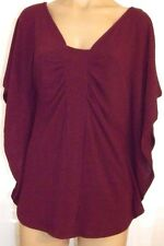 Logix Batwing sweater tunic top blouse shirt PS, petite small