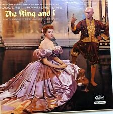 The King and I ORIGINAL SOUNDTRACK Capitol  W 740 Record LP 33 rpm