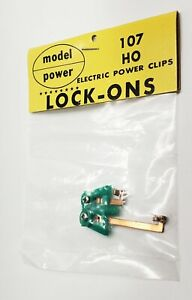 Model-Power HO Electric Power Clips train track #107