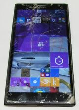 "NOKIA LUMIA 1520 BLACK 2GB/16GB WINDOWS PHONE 4G LTE 6"" 20MP AT&T - BROKEN GLASS"