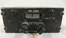 Vintage Bell Helicopter Radio Set Control by Wilcox Instrument Gauge #2