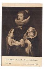 musée condé , chantilly ,van dyck , portrait de la princesse de brabançon