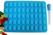 50 Chocolate Ice Cavity Tray Bear Silicone Maker Candy Mold Gummy New Novelty