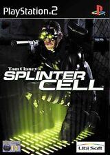 TOM CLANCY'S SPLINTER CELL   jeu console ps2