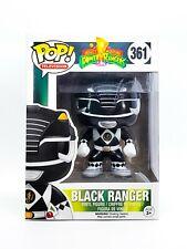 FUNKO Pop TV: Power Rangers - Black Ranger Action Figure