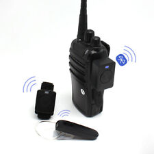 Inalámbrico Bluetooth Walkie Talkie Auriculares para Kenwood Baofeng Radios