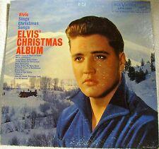 "Elvis Presley ""Elvis' Christmas Album"" 1961 33RPM 12"" RCA Victor LPM-1951 (VG+)"