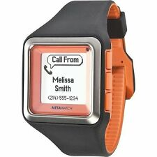 NEW Meta Watch LTD MW3002 Unisex Strata-tangerine Orange Iphone Android Smart