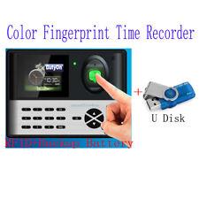 Tft Screen Tcpip Fingerprint Time Attendancebackup Battery And Rfid Reader