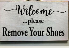 Welcome sign home decor