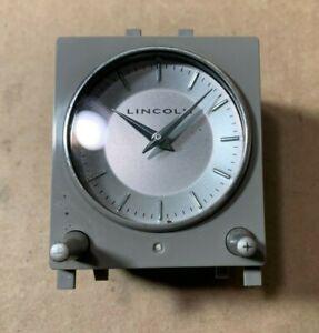 2003 04 05 06 LINCOLN NAVIGATOR DASH CLOCK CENTER GRAY 2L7Z-15000-AA OEM!