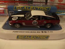 SCALEXTRIC 1:32 1970 BRITISH SALOON CHAMPIONSHIP CAR FORD MUSTANG BOSS 302 #3926