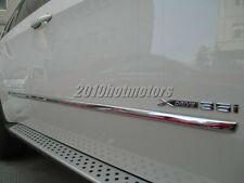 Stainless Steel Side Molding Trim Cover For BWM E70 X5