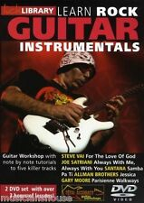 Fare clic su Libreria imparare a giocare ROCK Instrumentals Gary Moore Santana HITS CHITARRA DVD