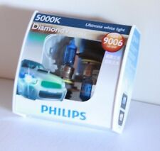 Genuine Philips 9006 HB4 12V 55W 5000K Diamond Vision Bulbs