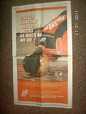 Tony Stewart 8-12-2005 Indianapolis Star BRICKYARD 400 Poster AD by Home Depot
