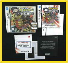 Pokemon Platinum Version UK release *GENUINE EXCEL. COMPLETE Nintendo DS 3DS 2DS