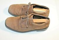 Mens Rockport Brown Suede Shoes Oxford Size 11M