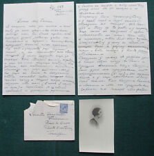 Princess Andrew Romanov of Russia Frogmore Cottage 1928 Antique Signed Letter