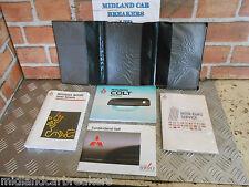 MITSUBISHI Colt MK4 1996 Service Dealer RETE MANUALE MANUALE Wallet Pouch
