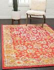 Unique Loom Penrose Collection Vintage Traditional Distressed Area Rug 2 Feet...