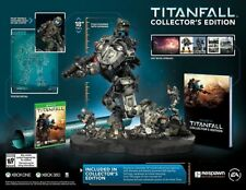 Titanfall Collector's Edition Xbox 360 Video Game + LED Statue Figure + Art Book