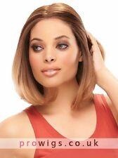 100% Real Hair Beautiful Fashion Short Brown Straight Wig For Women Human Hair
