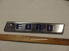 1950 Ford Truck F1 Hood Emblem Badge Stainless Steel Trim part # 1A9385 Pickup