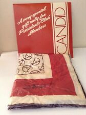 Vintage Avon President's Club Scarf  Candid  SM Kent