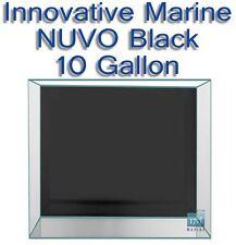 Innovative Marine NUVO Black 10 Aquarium Ten Gallon Fish Coral Tank ONLY
