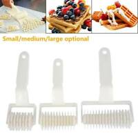 Baking Pastry Lattice Wheel Roller Cutter Plastic Pastry Kitchen Bakery Tool