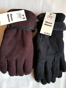 LADIES THINSULATE THERMAL FULL FINGER  WINTER GLOVE  OUTDOORS