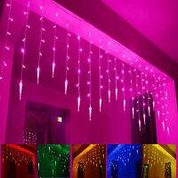 3.5m LED Curtain String Light For Xmas Christmas Fairy Wedding Garden Party 220V