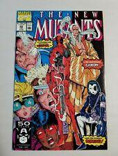 New Mutants 98 1st Deadpool Beautiful HIGH GRADE Copy 1991