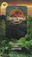 The Lost World: Jurassic Park [Vhs] Movies Vhs Tape Janusz Kaminski [Cinematogra