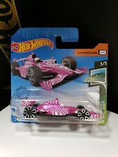 2020 HOT WHEELS SHORT CARD PINK INDY OVAL 500 SPEED BLUR - A8