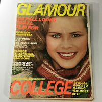 VTG Glamour Magazine August 1977 Christie Brinkley, 100 Fall Looks, Newsstand